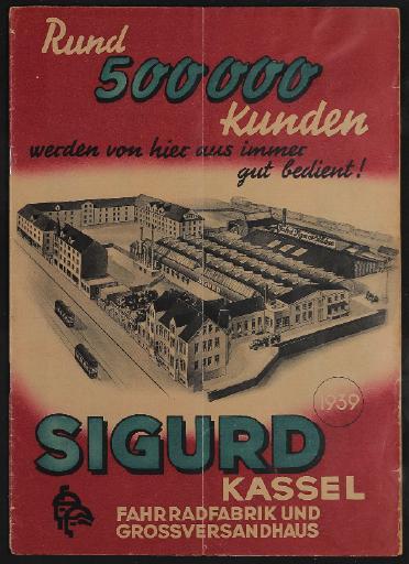 Sigurd, Katalog, 1939