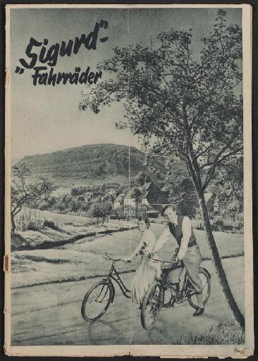 Sigurd-Fahrräder, Prospekt, 1935