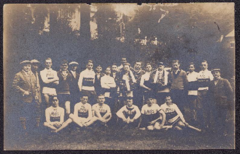 Postkarte RC Mifa Eisenach 1928