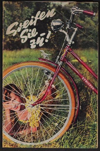 E.u.P. Stricker Fahrradfabrik Prospekt 1950er Jahre