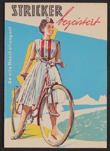 Stricker Fahrradfabrik, Katalog 1950er Jahre