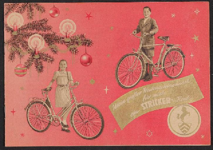 Stricker Prospekt Weihnachten 1950er jahre