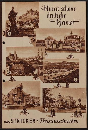 Stricker, Katalog, 1950