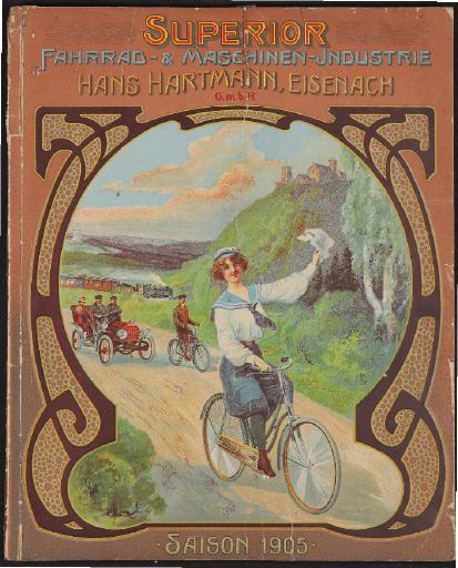 Superior Fahrrad und Maschinen-Industrie Katalog 1905