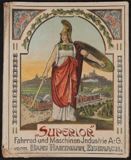 Superior Fahrrad- und Maschinen-Industrie Katalog 1908