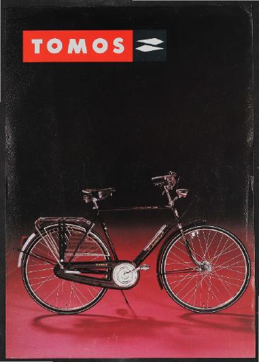 Tomos (D) Werbeblatt 1980