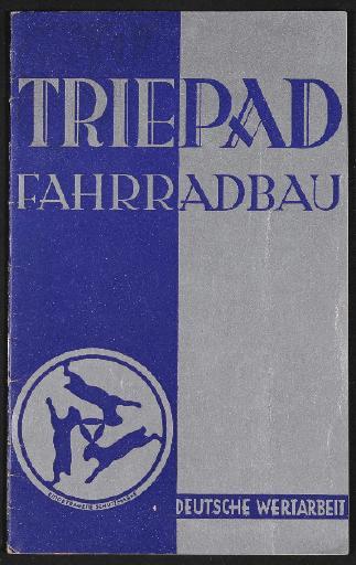 Triepad Fahrradbau Katalog 1938