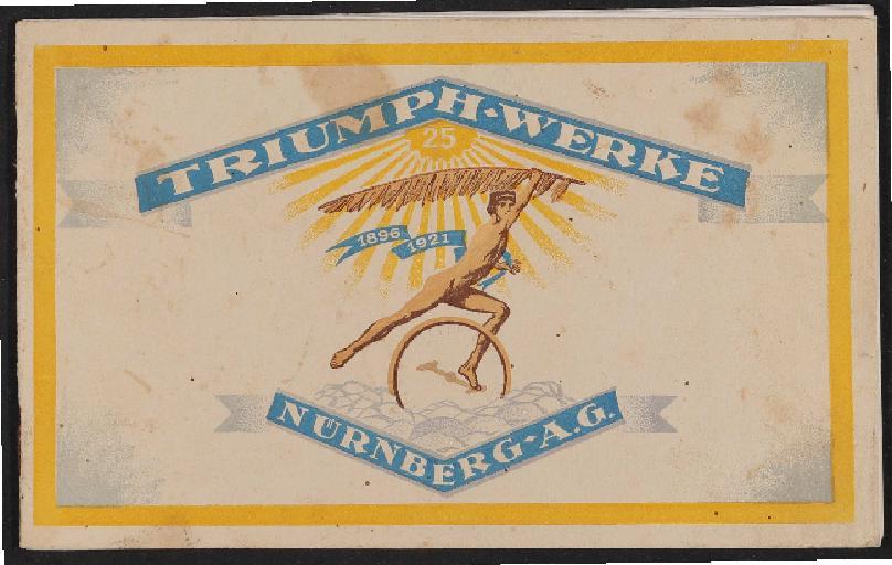 Triumph Fahrräder Katalog 1921