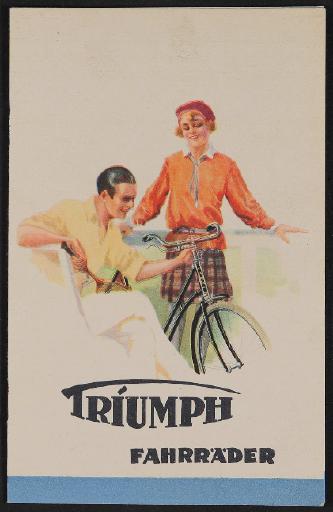 Triumph Fahrräder Katalog 1929