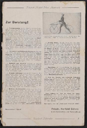 Vaterland, Katalog, 1939