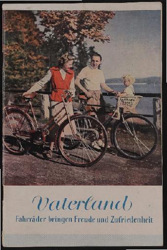 Vaterland, Katalog, 1952