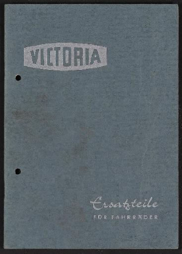 Victoria Ersatzteile für Fahrräder Katalog 1959