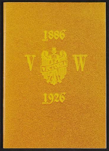 Victoria Jubiläummappe Nachdruck 1886 - 1926