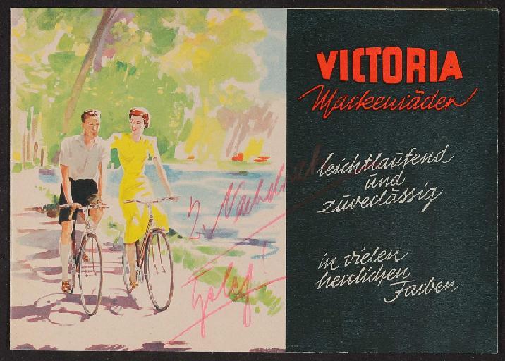 Victoria Katalog 1955