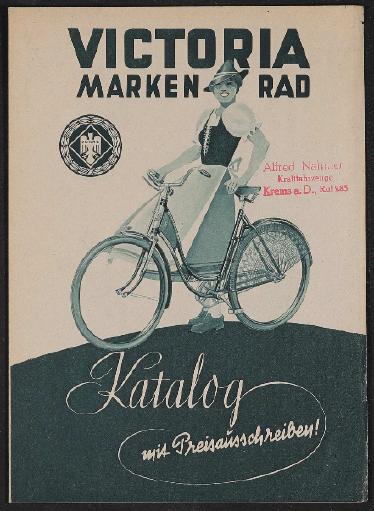 Victoria Markenrad Faltblatt 1939