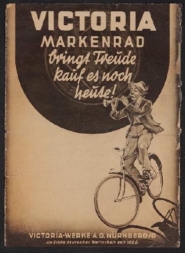 Victoria Markenrad Faltblatt 1940