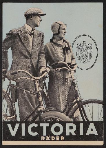 Victoria Räder Faltblatt 1931