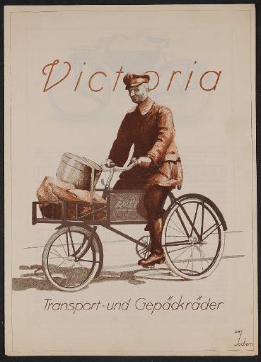 Victoria Transport- und Gepäckräder Prospekt 1924