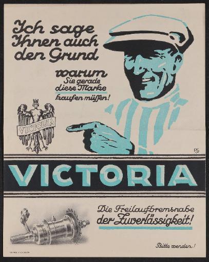 Victoria Werbeblatt 1925