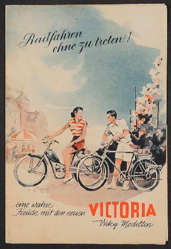 Victoria, Faltblatt 1954