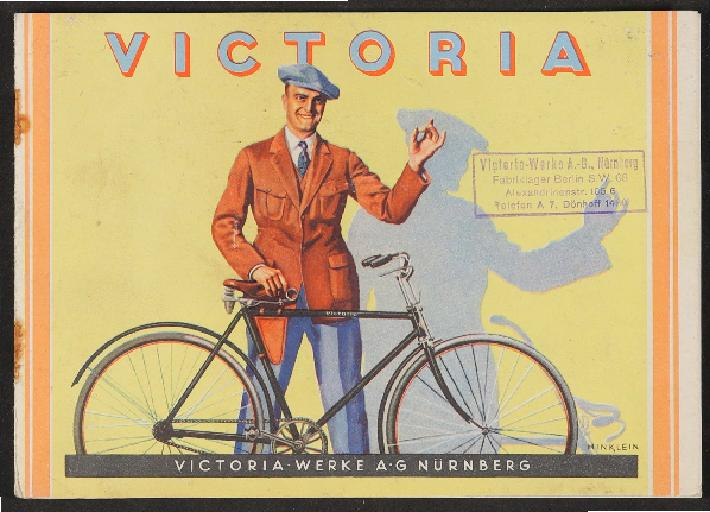 Victoria-Werke AG Nürnberg 1920er Jahre