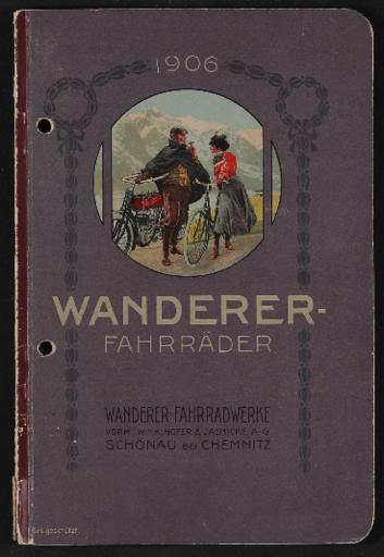 Wanderer Fahrräder Katalog 1906