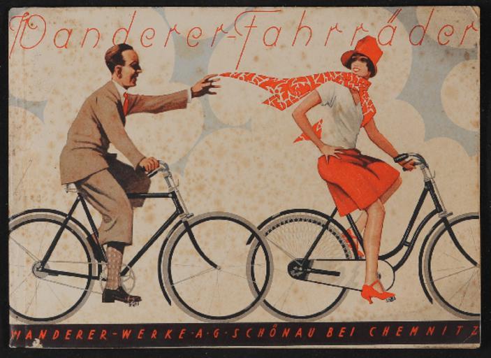 Wanderer Fahrräder Katalog 1920er Jahre