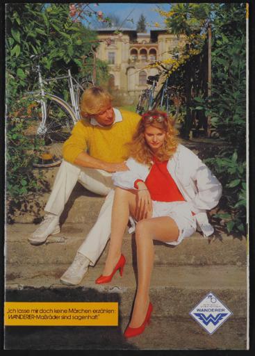 Wanderer Maßräder Katalog 1980er Jahre