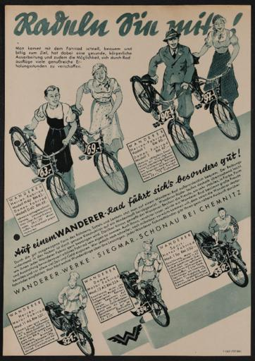 Wanderer Prospekte 1937