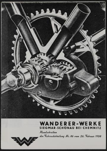 Wanderer Rundschreiben 1938
