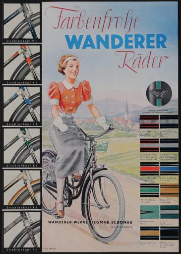 Wanderer Werbeblatt 1937-38
