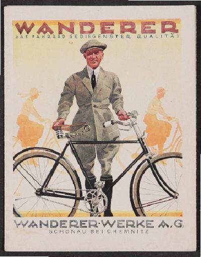Wanderer-Werke, Faltblatt 1924