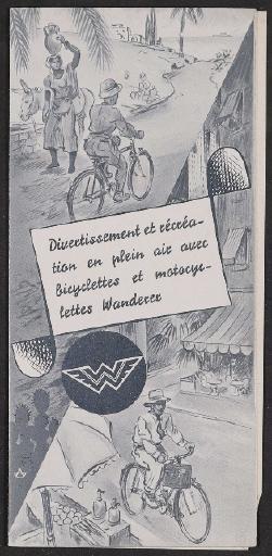 Wanderer-Werke, Faltblatt 1935