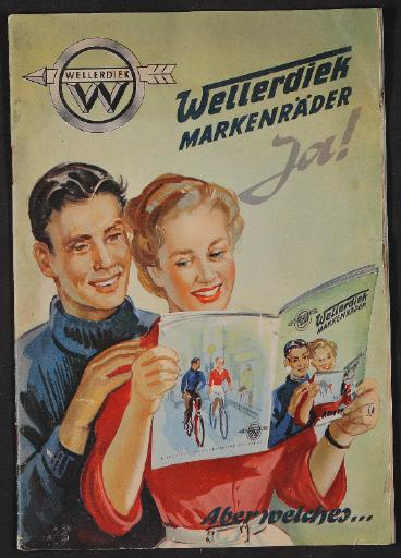 Wellerdiek Markenräder Prospekt 1954