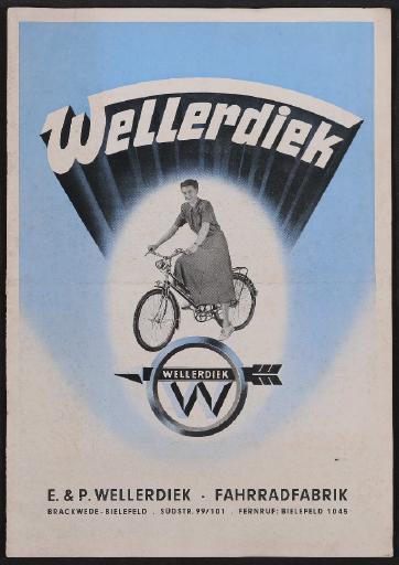Wellerdiek, Katalog, 1951