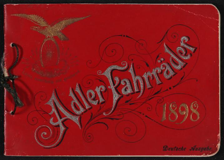 Adler Prospekt 1898