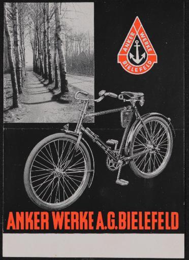 Anker Chrom-Luxus-Rad Prospekt 1934
