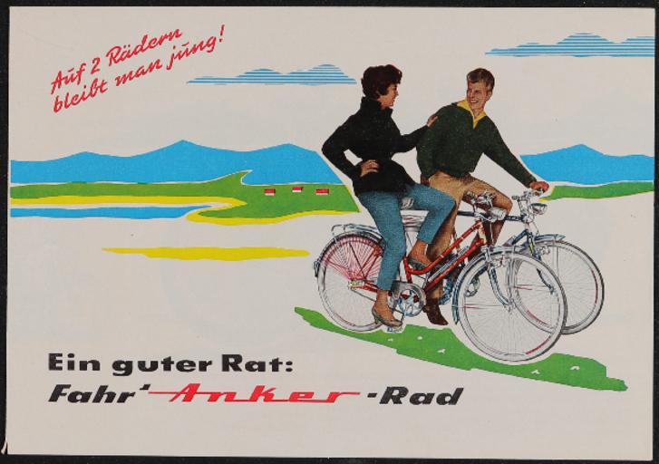 Anker Faltblatt 1960er Jahre