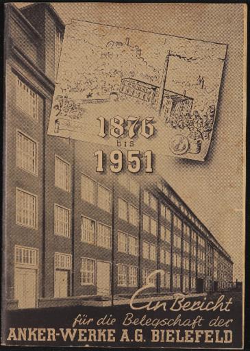 Anker Firmenschrift 1876-1951