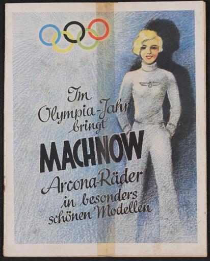 Arcona-Räder Ernst Machnow Händlerkatalog 1936
