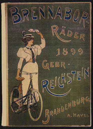 Brennabor Gebr. Reichstein Räder Katalog 1899