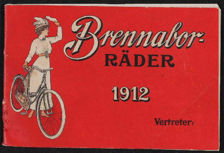 Brennabor Räder Katalog 1912
