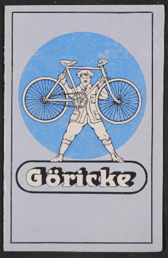 Göricke Katalog 1925