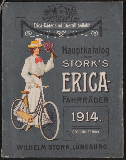 Erica-Fahrräder Stork Hauptkatalog 1914