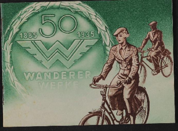 Wanderer Fahrräder Katalog 1935