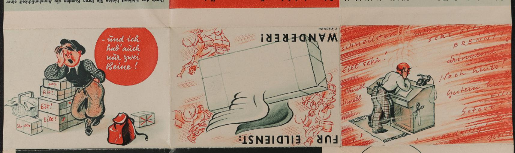 Wanderer Faltblatt 1933